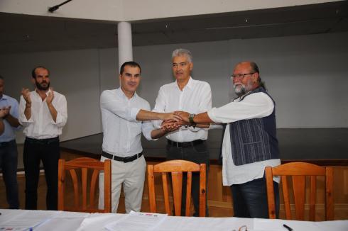 Pacto Ayt. de Tías PSOE,Lava y Podemos (9)